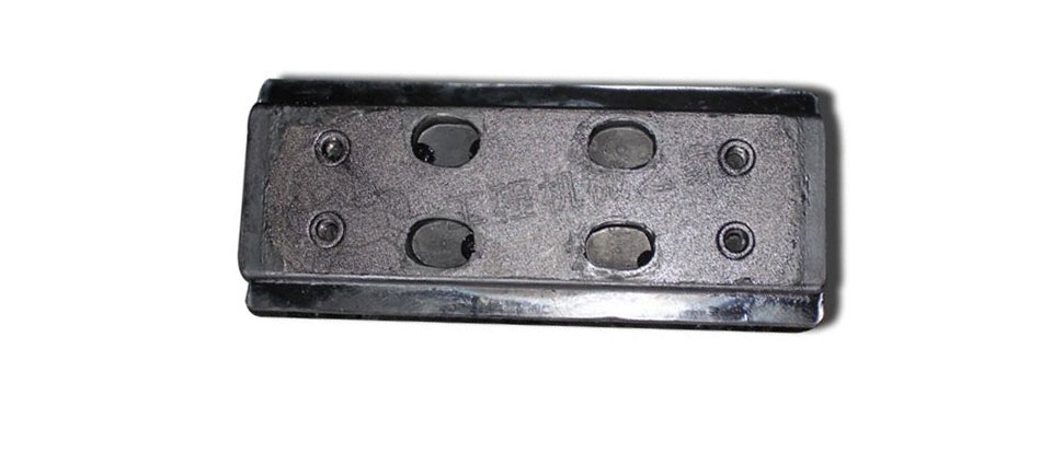 三一DTU90SC摊铺机分体履带板胶块