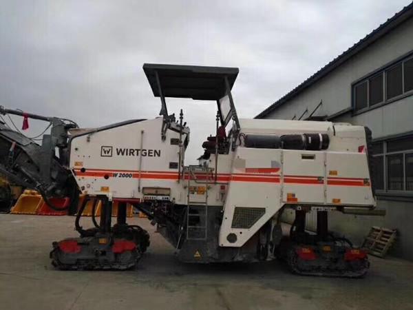 维特根W2000二手铣刨机