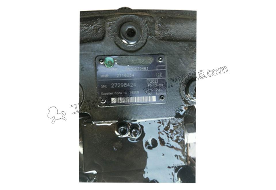 ABG8620摊铺机液压泵A10VG45R维修